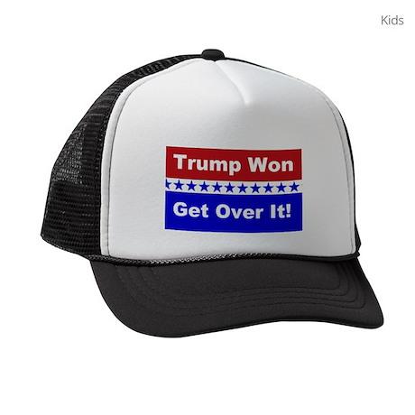Trump Won Get Over It! Kids Trucker hat