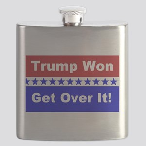 Trump Won Get Over It! Flask