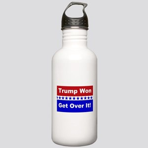 Trump Won Get Over It! Stainless Water Bottle 1.0L