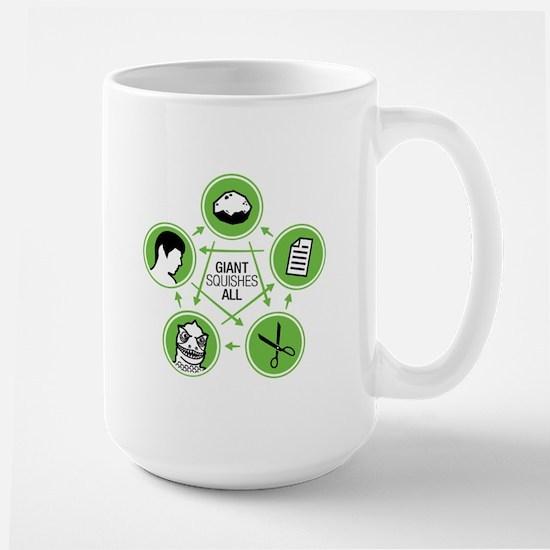 Rock, Paper, Scissors, Lizard, Spock - Mug Mugs