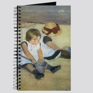 Mary Cassatt Children Playing on the Beach Journal