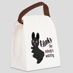 Binky Like Nobodys Watching Canvas Lunch Bag
