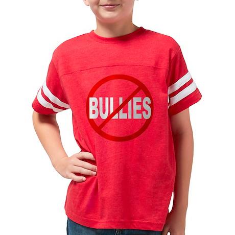 AntiBullies-10x10Trans Youth Football Shirt