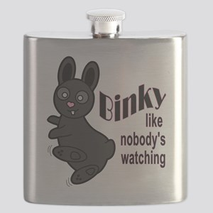 Binky Like Nobodys Watching Flask