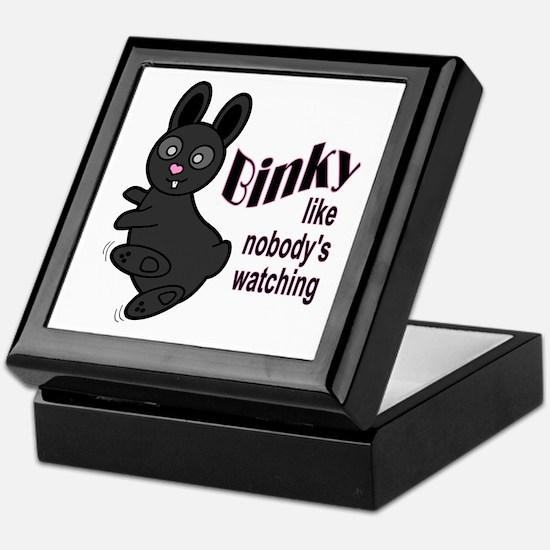 Binky Like Nobodys Watching Keepsake Box