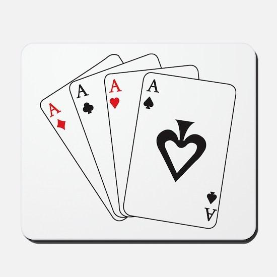 Four Aces Mousepad