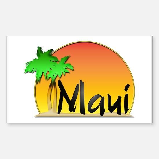 Maui Sticker (Rectangle)