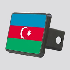 Azerbaijan Flag Rectangular Hitch Cover
