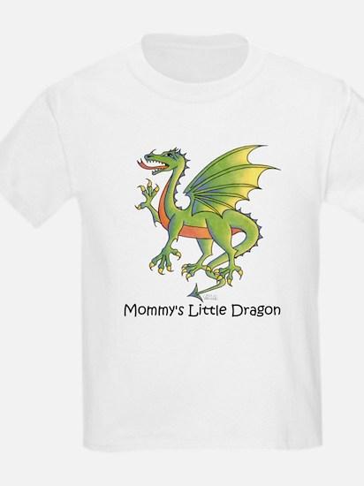 Mommy's Little Dragon Kids T-Shirt