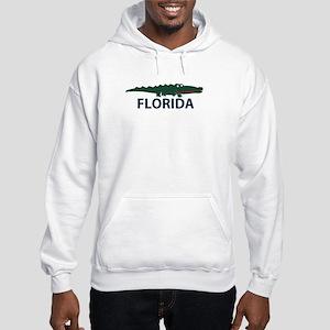 FLorida - Alligator Design. Hooded Sweatshirt