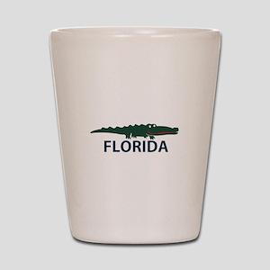 FLorida - Alligator Design. Shot Glass