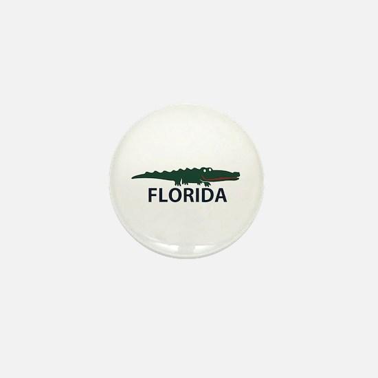 FLorida - Alligator Design. Mini Button