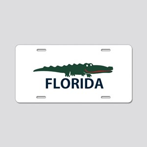 FLorida - Alligator Design. Aluminum License Plate