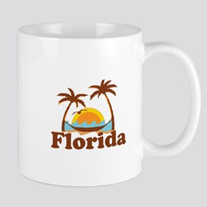 Florida - Palm Trees Design. Mug