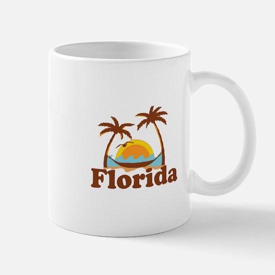 Florida - Palm Trees Design. Mug
