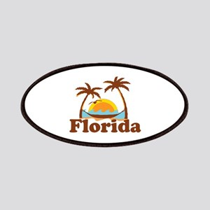 Florida - Palm Trees Design. Patches