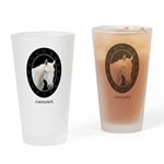 Horse Theme Drinking Glass #1014