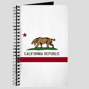 Smilodon California Flag Journal