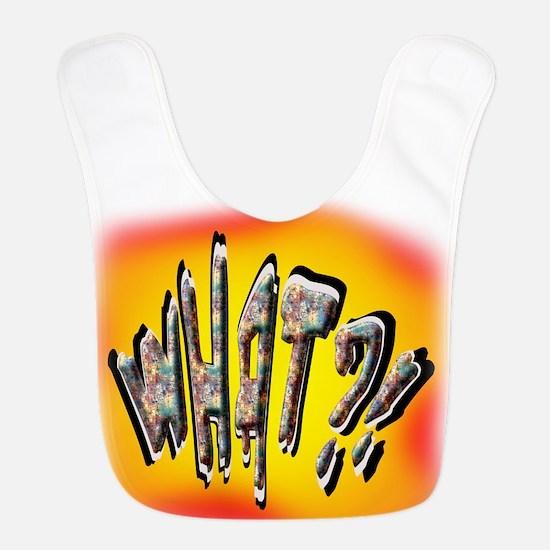 WhatBurst FB Polyester Baby Bib