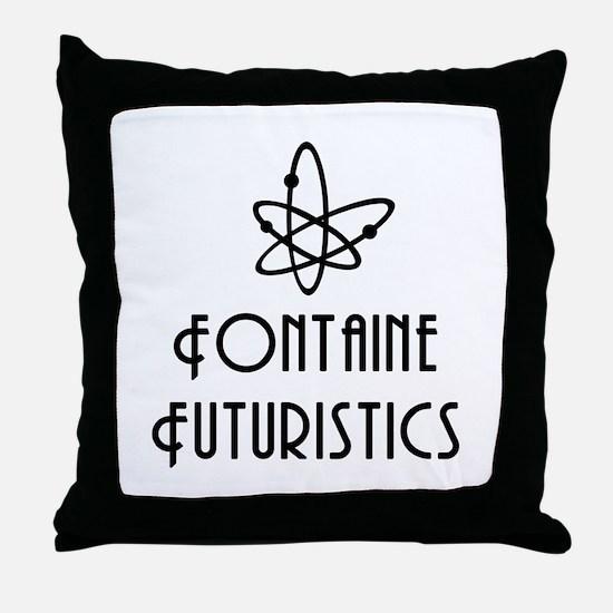 Fontaine Futuristics Throw Pillow