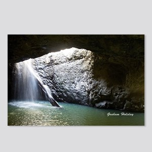 Natural Arch Waterfall Postcards (Package of 8)