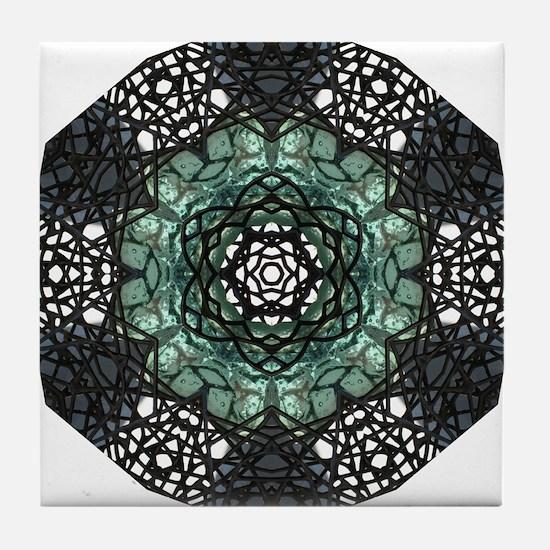 Guggenheim Wire Door 1 Tile Coaster