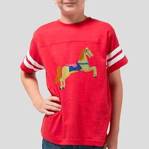 eps_carousel_horse012 Youth Football Shirt