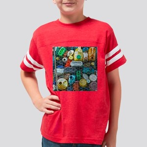 Curacao Recycling Art Youth Football Shirt