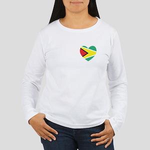 Guyana Women's Long Sleeve T-Shirt