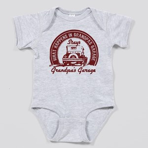 Grandpa's Garage Baby Body Suit