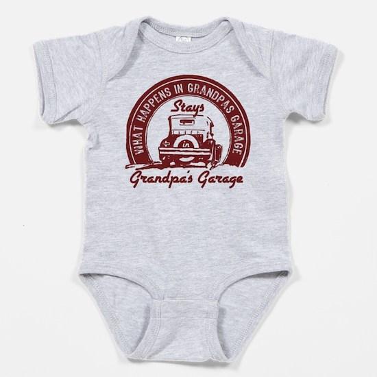 Grandpa's Garage Baby Body Suit