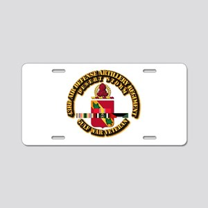 Army - DS - 43ADA RGT w DS SVC Aluminum License Pl