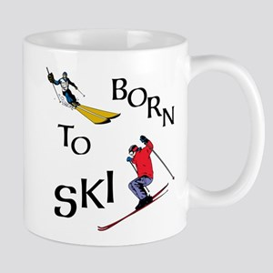 Born To Ski Mugs