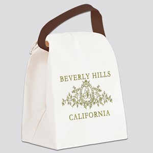 Beverly Hills CA Canvas Lunch Bag
