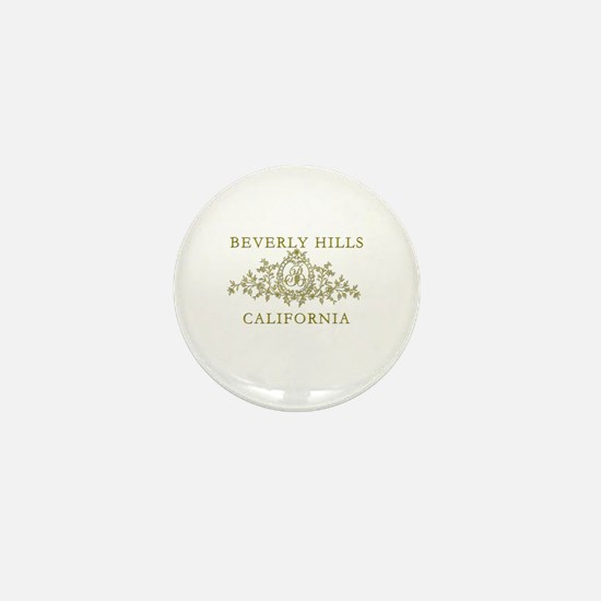 Beverly Hills CA Mini Button