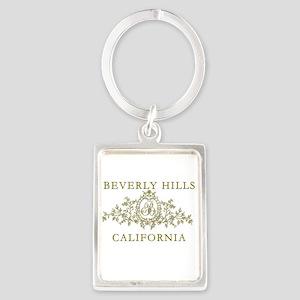 Beverly Hills CA Portrait Keychain