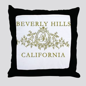 Beverly Hills CA Throw Pillow