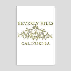 Beverly Hills CA Mini Poster Print
