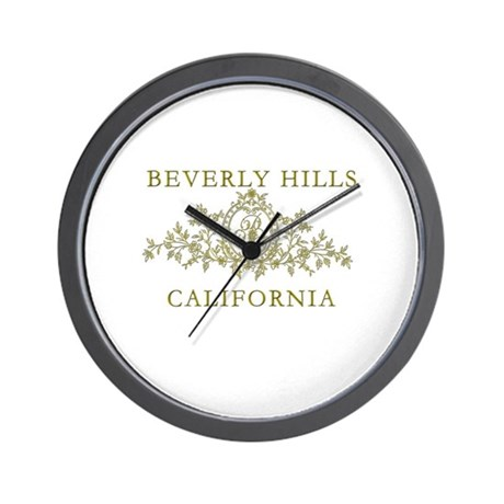 Beverly Hills CA Wall Clock