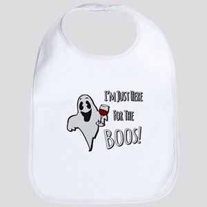 Im Here for the Boos Bib