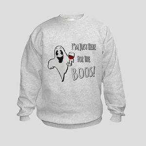 Im Here for the Boos Sweatshirt