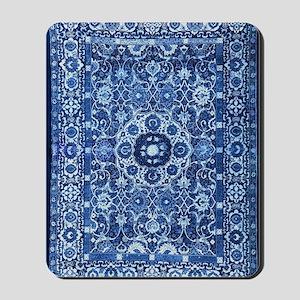 Oriental Rug Blue Mousepad