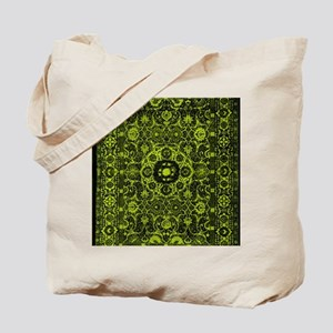 Oriental Rug Green Tote Bag