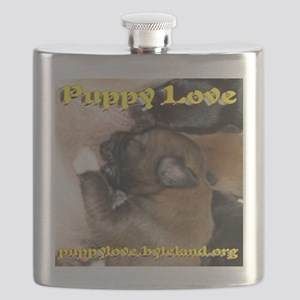ARF! Animal Rescue Fundraising. Flask