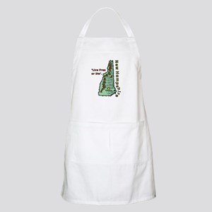 New Hampshire - Live Free or Die Apron