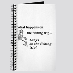 What Happens On Fishing Trip Journal