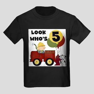 Fireman 5th Birthday T-Shirt