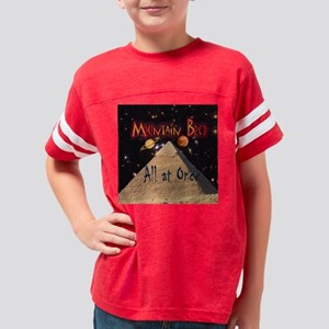 mountain bred space cover2 DS Youth Football Shirt