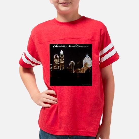 Charlotte Design Youth Football Shirt