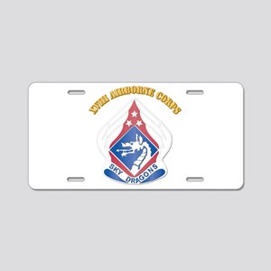 DUI - XVIII Airborne Corps with Text Aluminum Lice